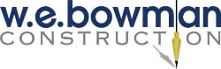 WE Bowman Construction Logo